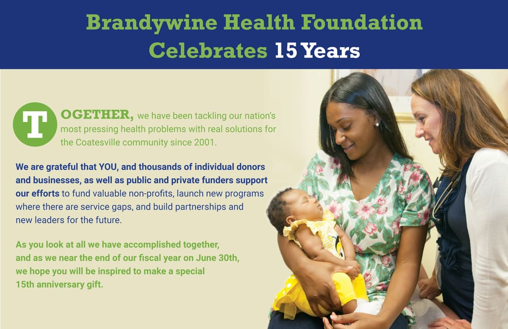 Brandywine Health Foundation Donor Mailing